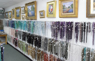 Right Bead Wall